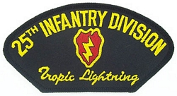 25th Infantry Division Patches